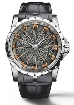 The Knights of the Round Table Watch is so awesome you'll swear that Merlin created it using dragon's breath. It was made by watchmaker Roger Dubuis. I gue...