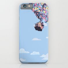 up, house in the clouds,disney, pixar. phone case, iphone, galaxy.. by studiomarshallgifts on Etsy