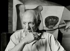 Herbert List (1903-1975) Pablo Picasso 7 rue des Grands Augustins, Paris, France 1948