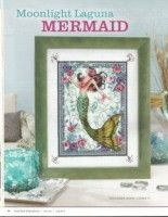 ru / Photo # 3 - Mermaid and roses - Fantasy Cross Stitch, Cross Stitch Angels, Cross Stitch Letters, Cross Stitch Designs, Stitch Patterns, Mermaid Cross Stitch, Quilting Designs, Cross Stitching, Moonlight