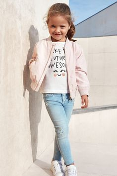 Fun and fabulous denim styles for little trendsetters. | H&M Denim