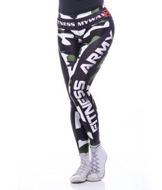 Army leggings MyWay2fitness for fitness and workout