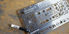 The Windows 8 Stencil Kit allows you to mock-up app ideas with ease.