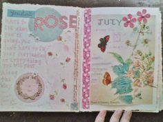 The Painted Flower #art #journal
