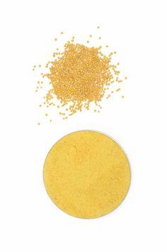 Organic Mustard Seeds Yellow, Ground