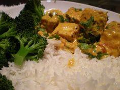 La cuisine de Radisjoli: Tofu sauce au beurre à l'indienne