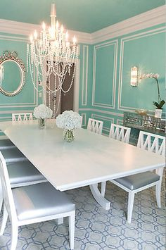 This WILL be my dining room...if my future husband doesn't like it, he'll have to get over it.