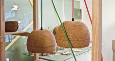 Globa][ cork lamp by corchetes.com