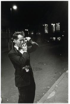 Robert Frank, Photographer, at work at the 'Old Metropolitan Opera', New York, 1954 © Bedrich Grunzweig Photo Archive