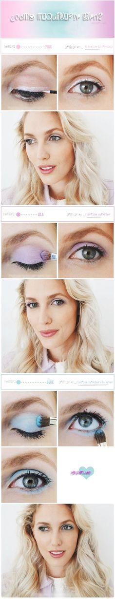 Echa un vistazo a la mejor maquillaje para novias en las fotos de abajo y obtener ideas!!! I think this is pretty. I would want to incorporate a little bit of the dark olive green eyeshadow that I own.