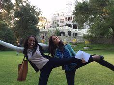 Aja Naomi King and Karla Souza. #HTGAWM
