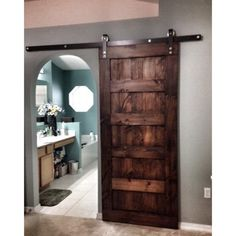 Looking for something to replace average doors? These custom made sliding barn doors will definitely make a statement in your home and will be