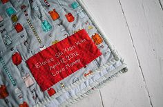 Ombre Cross Quilt back by Celine Kim, via Flickr