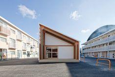 Emergency Houses at Onagawa by Shigeru Ban