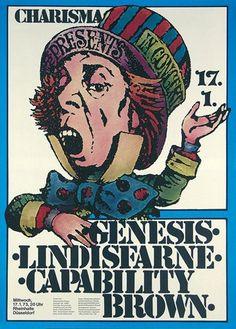Genesis, Lindisfarne, Capability Brown 1973