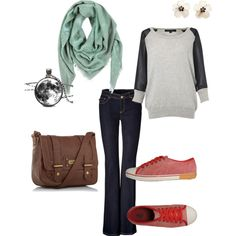 """""""Casual clothes"""" by lynnerambling on Polyvore"""