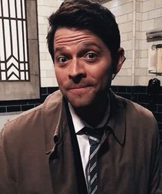"strengthcas: "" Oh, Misha. You adorably handsome son of a bitch. """