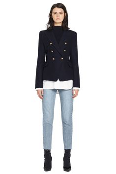 Dimmer Blazer in Ink by CAMILLA AND MARC