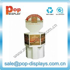 Point-of-sale-Coffee-Corrugated-Dump-Bin-Display