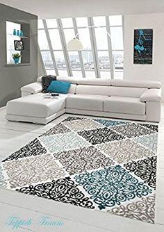 designer teppich lurex klassich gemustert glitzer teppich beige