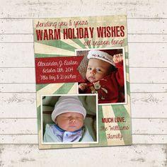 Christmas Photo Card  5x7 printable download  2 by ValeriePullam