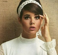 Vintage Colleen Corby Ad (recreate hair & makeup look)