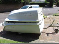 Clamboat MK11 Folding boat with inbuilt trailer Boats