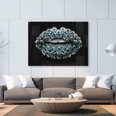 """""""Diamond Kiss"""" inspirational motivational canvas wall art will remind you daily that you're indestructible. Like a diamond, when you let your true value shine, people might fight wars over you. Luxury Home Decor, Napoleon, Monopoly, Canvas Wall Art, Entrepreneur, Diamonds, Inspirational, Stars, History"""