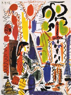 L'Atelier á Cannes Art Print by Pablo Picasso   King & McGaw