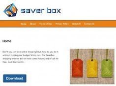 SaverBox is an adware that comes in the computer without any manual interference.