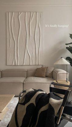 Apartment Interior, Living Room Interior, Home Interior Design, Dream Home Design, Living Room Decor, Bedroom Decor, Living Room Inspiration, Home Decor Inspiration, New Room