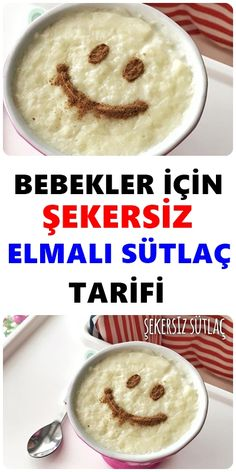 Şekersiz Sütlaç Tarifi Sweet mothers who want to feed the little ones sweet sugar-free milk, this recipe is just for Sugar Free Rice Pudding Recipe, Pudding Recipes, Sugar Free Milk, Perfect Baked Potato, Best Macaroni And Cheese, Braised Brisket, Cheese Waffles, Best Peanut Butter Cookies, Skillet Chocolate Chip Cookie