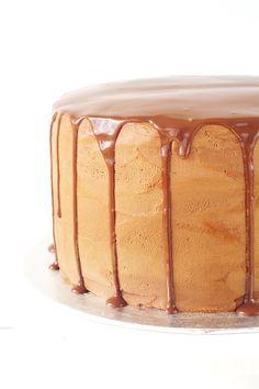 Chocolate Fudge Layered Cake