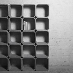 Beton als Innendekorationselement Concrete as an interior decoration element Cement Art, Concrete Cement, Concrete Furniture, Concrete Crafts, Concrete Projects, Concrete Design, Diy Projects, Concrete Interiors, Beton Design