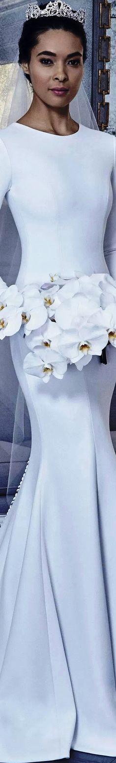 Romona Keveza Bridal Spring 2019 Romona Keveza, Bridal Collection, Formal Dresses, Wedding Dresses, One Shoulder Wedding Dress, Dream Wedding, Wedding Inspiration, Elegance Style, Elegant