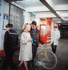 Catherine Deneuve in The Umbrellas of Cherbourg (1964)