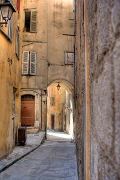"""Historic Grasse, """"I am a lover of poetry. What would reality be without its poetic dimension? Even if you do not read poetry, it plays an important role in everyday life. I am a lover of fragrance, and fragrance is a form of poetry. It doesn't speak, but it gives so much."""" Jacques Polge"""