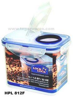 HPL714F//6 Lock /& Lock 6 x Lock /& Lock Schüttbox 4,3 l