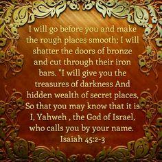 Isaiah 45:2-3