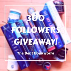 300 Followers Book Giveaway!