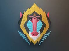 Image result for baboon illustrations