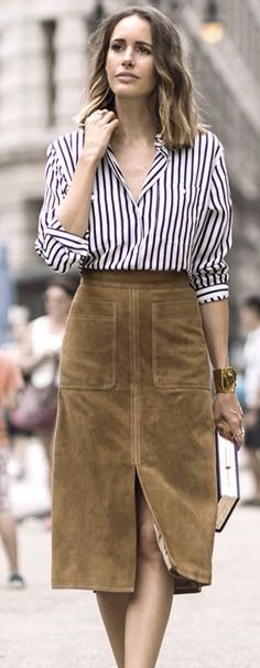 Garance Doré Stripes On Suede Holiday Style Inspo
