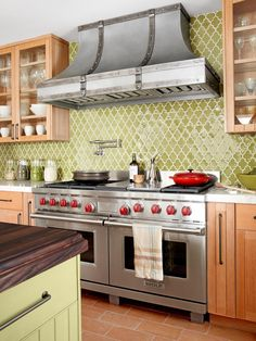 No longer just an afterthought to countertops and cabinets, kitchen backsplashes are getting the attention they deserve. Design experts weigh in on the best options for any style and budget.