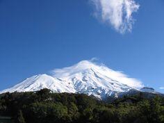 Mount Taranaki on North Island of New Zealand  #Travel #WanderLust
