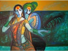 Image result for hindu religious abstract paintings