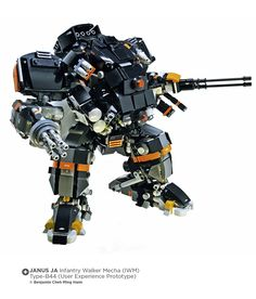 JANUS JA Infantry Walker Mecha (IWM)  Type-B44 (User Experience Prototype)