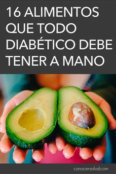 16 alimentos que todo diabético debe tener a mano #salud