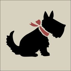 "The Artful Stencil ""Scotty 1 Stencil"" 7 x 5.5"" 