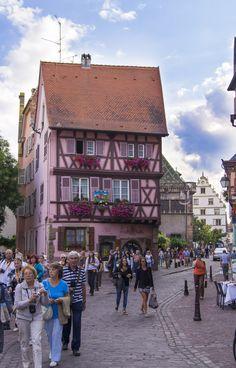 La Grand Rue (main street) - Colmar #Alsace #France #Travel www.tourisme-colmar.com