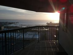 View from the courtyard side of our 15th floor condo in OC MD.